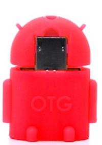 microUSB to USB OTG adapter Navsailor (B101) (Красный)
