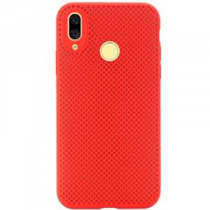 Air Color Slim | Силиконовый чехол для Huawei Nova 3 с перфорацией
