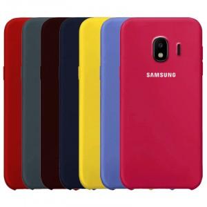 Cиликоновый чехол для Samsung J400F Galaxy J4 (2018) с покрытием soft touch