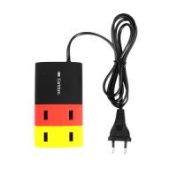 Epik Сетевое ЗУ Earldom 4-USB 5V 2.1A (Черный / Желтый / Красный)