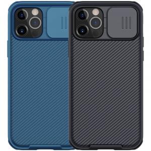 Nillkin CamShield Pro | Чехол из пластика и TPU с защитой камеры для магнитной зарядки для iPhone 12 / 12 Pro