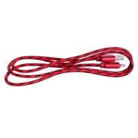 Epik Дата кабель lightning для Apple iPhone 5/5s/5c/SE/6/6 plus/6s/6s plus плетеный Earldom (1m) (Красный)