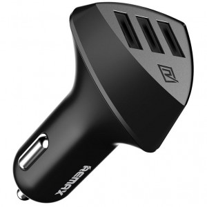 REMAX RCC304 Aliens | Автомобильное зарядное устройство на 3 USB (4.2A)