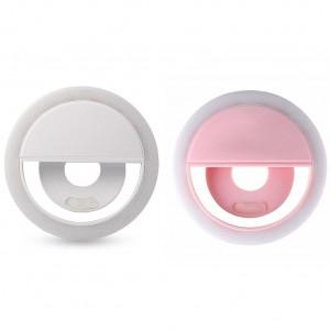 Selfie Ring Light | Светодиодное кольцо для селфи с кнопкой переключения яркости