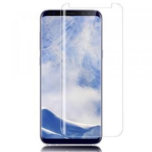 Прозрачное защитное стекло 3D с закругленными краями для Samsung Galaxy S9+
