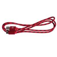 Epik Дата кабель microUSB плетеный Earldom (1m) (Красный)