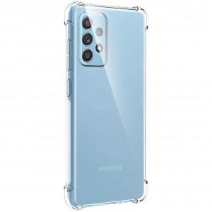 King Kong | Противоударный прозрачный чехол для Samsung Galaxy A52 с защитой углов