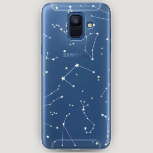 RosCase | Силиконовый чехол Созвездия на Samsung Galaxy A6 (2018)