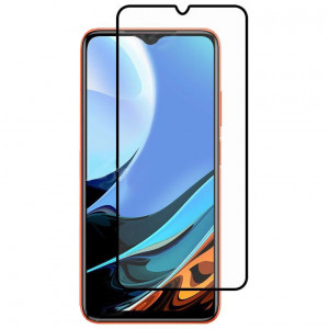 Защитное стекло 5D Full Cover для Xiaomi Poco M3 / Redmi 9T
