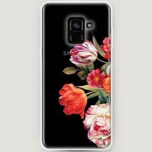 RosCase   Силиконовый чехол для Samsung A530 Galaxy A8 (2018)