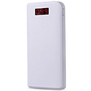 Remax PPL-14 | Портативное зарядное устройство Power Bank с фонариком на 2 USB (30000 mAh)