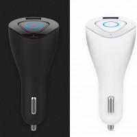 Rock Muca | Автокомплект громкой связи гарнитура Bluetooth + автомобильное зарядное устройство