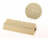 �������������� ������� ����������� Remax Golden Bar 6666 mAh (1.5A) (�������)
