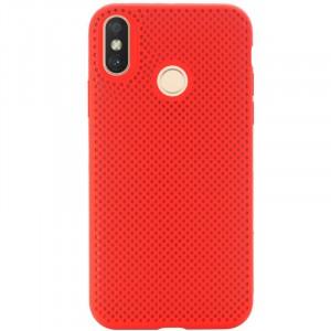 Air Color Slim | Силиконовый чехол для Xiaomi Mi A2 Lite / Xiaomi Redmi 6 Pro с перфорацией