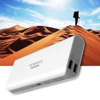 Дополнительный внешний аккумулятор ROMOSS Sailing 5/Samsung SDI (13000mAh 2 USB 2.1A+1.0 А) (Белый)