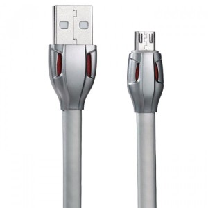 Remax RC-035m Laser | Дата кабель USB to MicroUSB со световым индикатором (100 см)