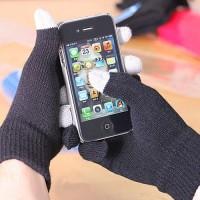 Epik Емкостные перчатки (Черный)