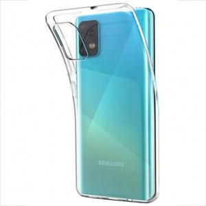 Прозрачный силиконовый чехол для Samsung Galaxy A52