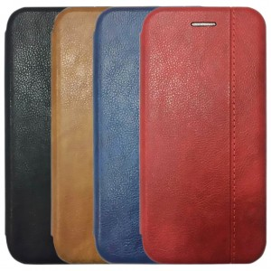 Open Color 2 | Чехол-книжка на магните для Huawei Honor 7C с подставкой и внутренним карманом