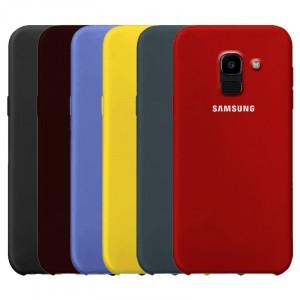 Cиликоновый чехол для Samsung J600F Galaxy J6 (2018) с покрытием soft touch