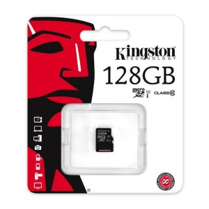 Kingston | Карта памяти microSDXC 128GB Class 10