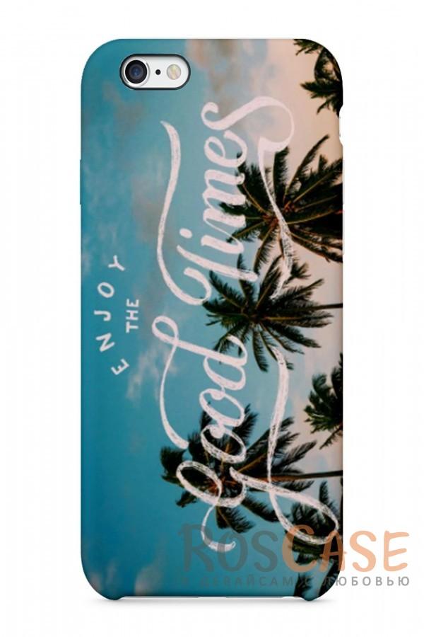 "Фото Good Time Пластиковый чехол RosCase ""Отпуск"" для iPhone 6/6s (4.7"")"