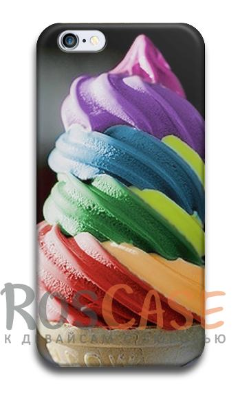 """Фото Ice cream Пластиковый чехол RosCase """"ЛЕТО!"""" для iPhone 6/6s (4.7"""")"""