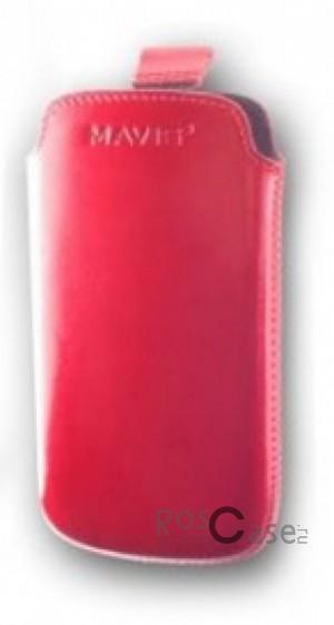 фото кожаный футляр Mavis Premium 122x63 для S7562/G302D/i8160/i8190