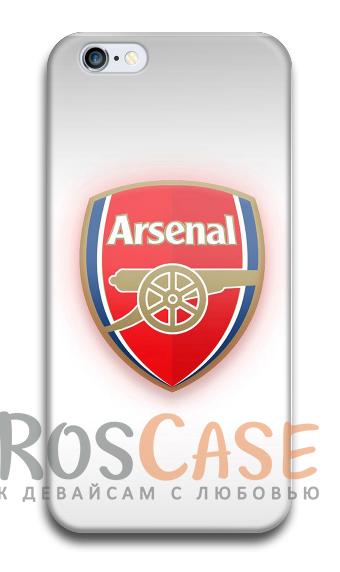 """Фото Арсенал №2 Пластиковый чехол RosCase """"Футбольные команды"""" для iPhone 5C"""