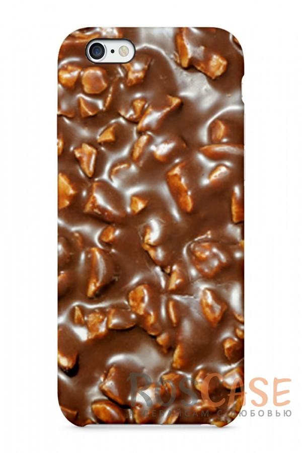 "Фото Шоколад Пластиковый чехол RosCase ""Еда"" для iPhone 6/6s (4.7"")"