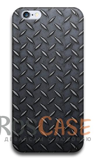 """Фото Carbon №4 Пластиковый чехол RosCase с 3D нанесением """"Карбон"""" для iPhone 4/4S"""