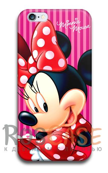 """Фото Минни №2 Пластиковый чехол RosCase """"Disney"""" для iPhone 4/4S"""