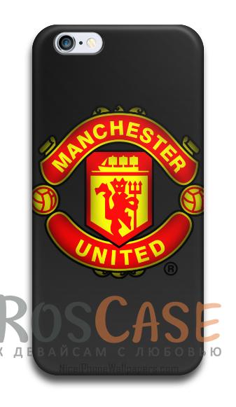 """Фото Манчестер Юнайтед Пластиковый чехол RosCase """"Футбольные команды"""" для iPhone 5C"""