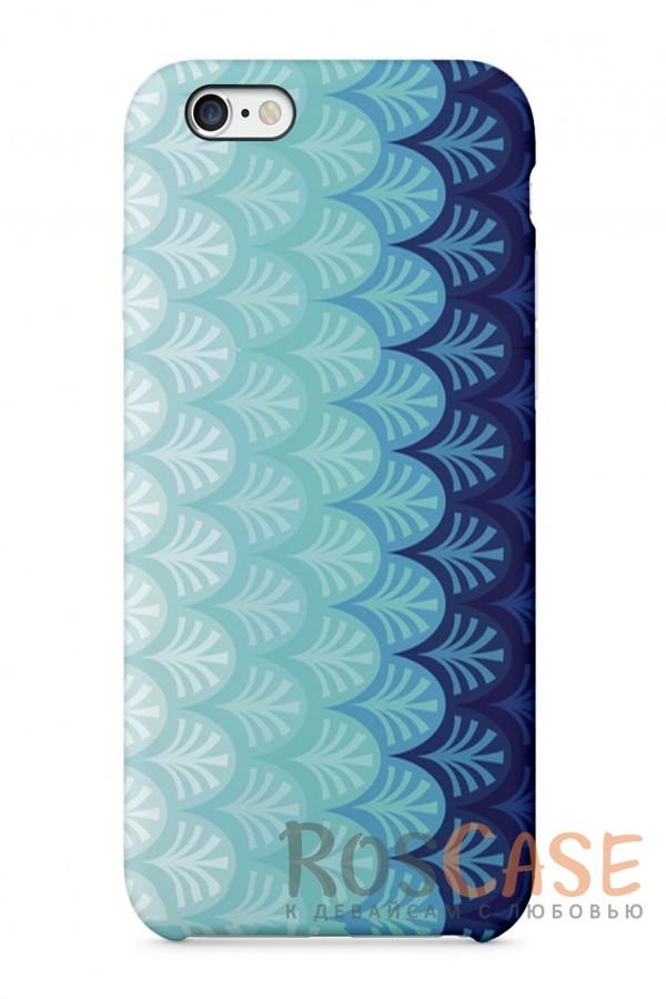 """Фото Водный Орнамент Пластиковый чехол RosCase """"Узоры"""" для iPhone 6/6s (4.7"""")"""