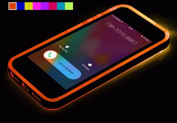 Светящийся при входящих звонках чехол для айфона