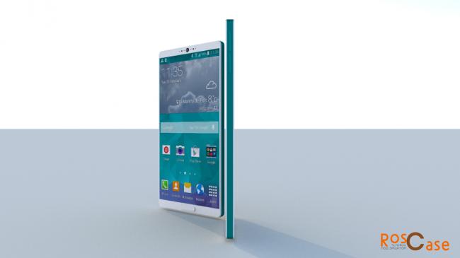фото Samsung Galaxy S6 и  S6 Edge вид сбоку