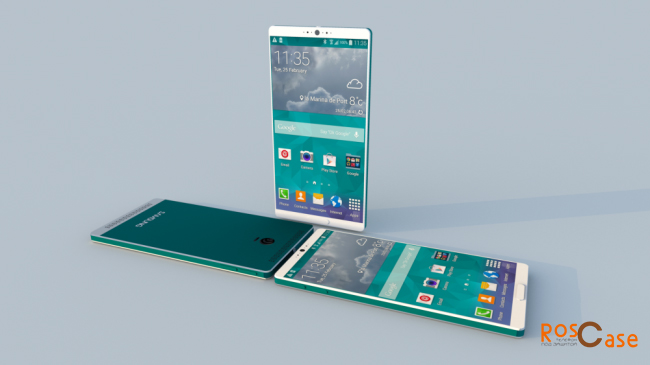 фото Samsung Galaxy S6 и  S6 Edge вид сзади сбоку и спереди