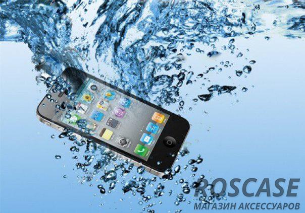 Айфон упал в воду