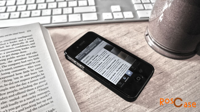 чехол-подставка на Apple IPhone 6 для удобства чтения с экрана