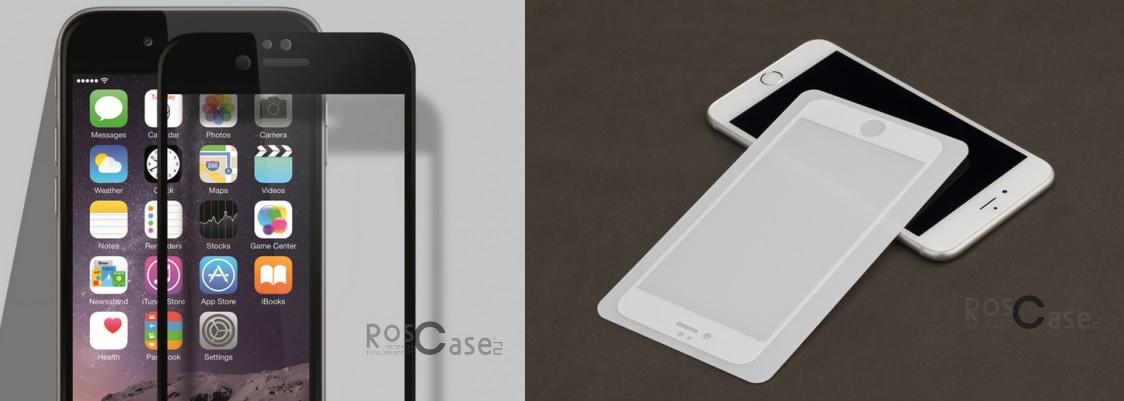"Rock Perfect Full Tempered (2.5D) Glass Series для Apple iPhone 6 (4.7"") и для iPhone 6 Plus (5.5"") фото"