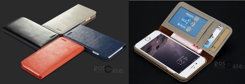 Чехол-бумажник Rock Elite Series для Iphone 6 и 6 plus