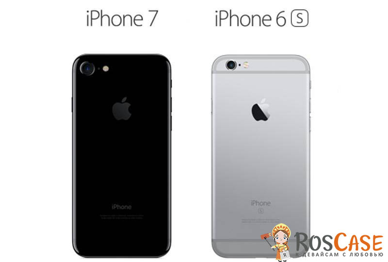 Чехлы на iPhone 6 и 7 одинаковые?