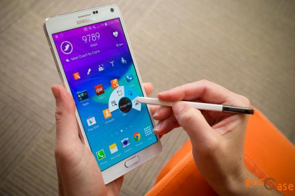 дисплей Sumsung Galaxy Note 4 со стилусом