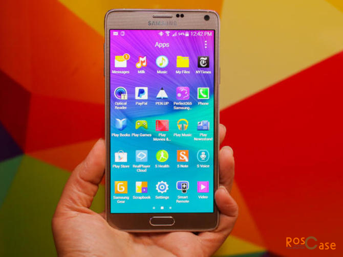 SUPER AMOLED дисплей Galaxy Note 4