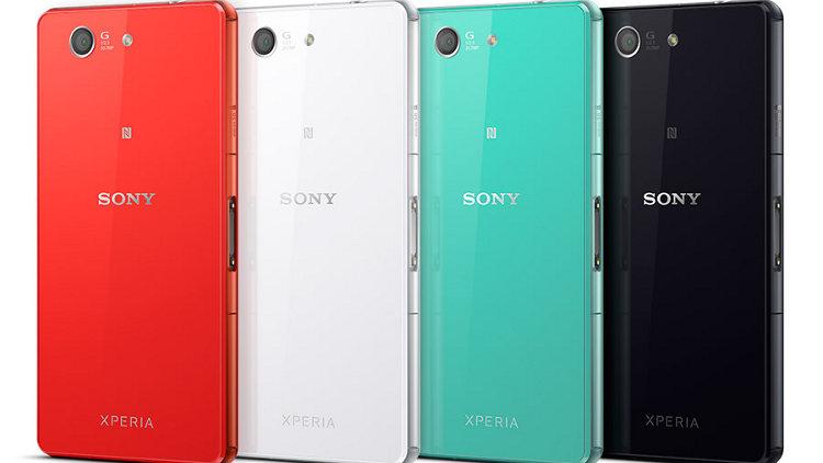 Цвета смартфона Sony Xperia Z3