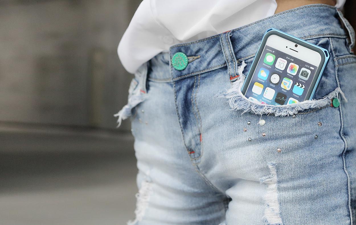 айфон 6 в кармане джинсов фото 1