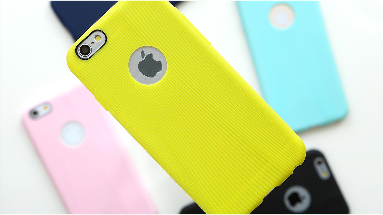 желтый TPU чехол Rock Melody Series для  iPhone 6