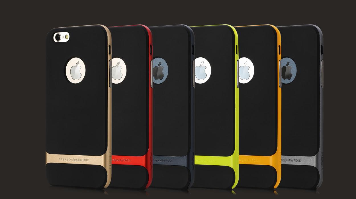 цветовая палитра TPU чехлов Rock Royce Series для  iPhone 6 фото