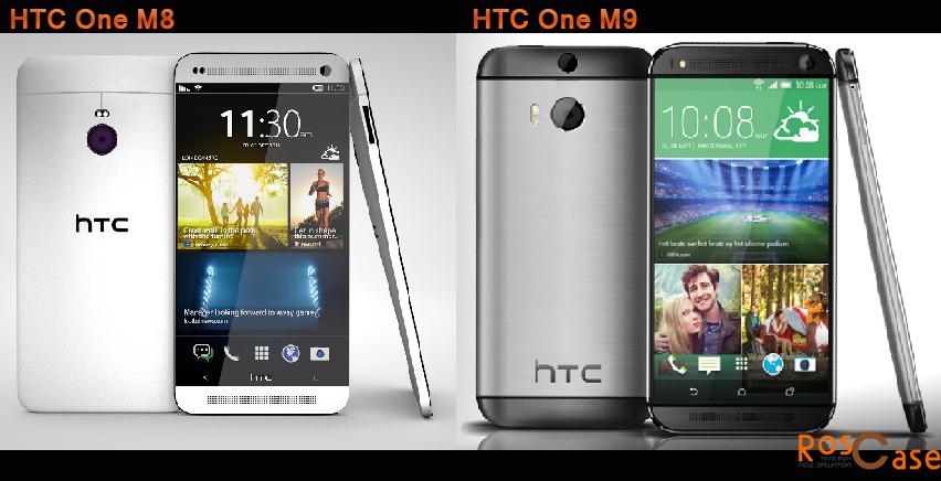 чехлы для новых смартфонов HTC One M8 и One M9 фото