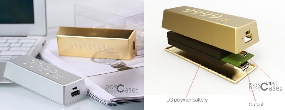 изображение дополнительный внешний аккумулятор Remax Golden Bar 6666 mAh (1.5A) предложен на RosCase.ru